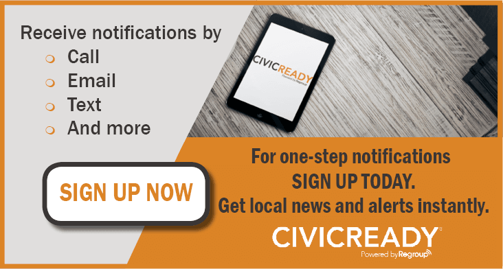CivicReady Sign Up