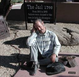 Prisoner at Jail Tree