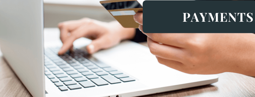 Online Payments Headings